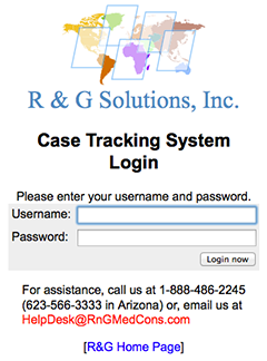 R & G Case Database 2