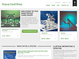 Popup Card Shop site thumbnail